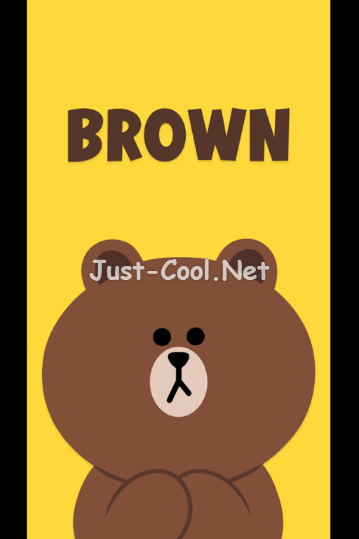 LINE_Theme_BrownSpecial_01