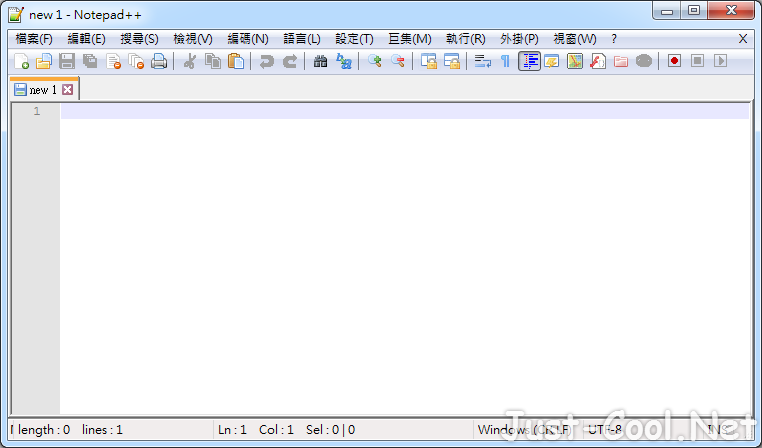 Notepad++ 7.7.1 免安裝中文版 – 免費代碼編輯器取代系統內建記事本