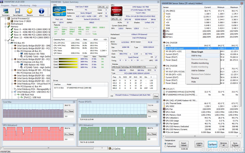 HWiNFO 7.02.4430 免安裝版 – 專業電腦硬體資訊檢測工具