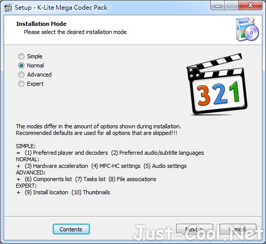 K-Lite Codec Pack Mega 16.1.2 – 多媒體影音解碼器安裝包
