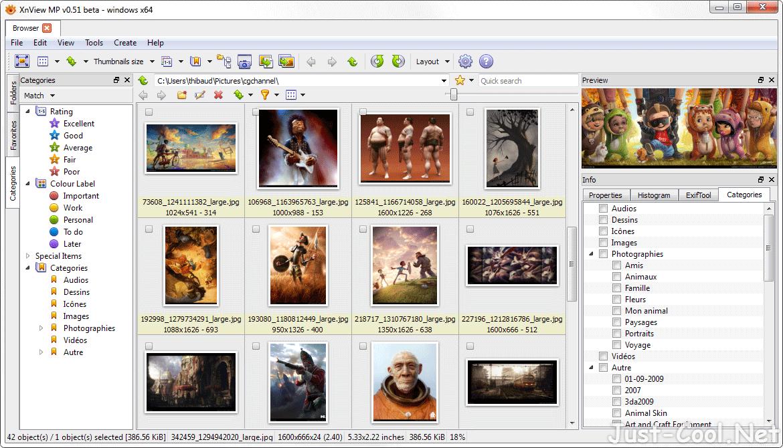 XnViewMP 0.98.2 免安裝中文版 – 圖片瀏覽、螢幕擷圖、批次轉檔、批次重新命名
